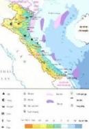 Bắc trung bộ: Hãy xác định trên bản đồ Hành chính Việt Nam vị trí địa lí và phạm vi lãnh thổ của vùng Bắc Trung Bộ.