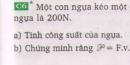 Bài C6  trang 53 sgk vật lí 8