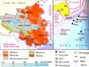 Hãy xác định trên bản đồ Hành chính VN vị trí địa lí và phạm vi lãnh thổ của vùng ĐNB. Nêu bật những thuận lợi về vị trí địa lí trong phát triển nền kinh tế mở của vùng ĐNB