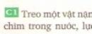 Câu 1 - trang 36 SGK vật lý 8