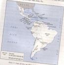 Dựa vào lược đồ (hình 13), hãy nêu kết quả của cuộc đấu tranh giành độc lập ở khu vực Mĩ Latinh đầu thế kỉ XIX