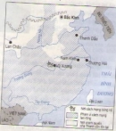 Dựa trên lược đồ (hình 8), trình bày diễn biến chính của cách mạng Tân Hợi