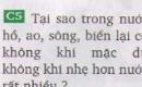 Bài C5 trang 73 sgk vật lí 8