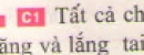 C1 trang 28 sgk Vật lí lớp 7