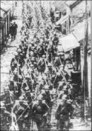 Sự phát triển của cuộc đấu tranh chống chủ nghĩa quân phiệt của nhân dân Nhật Bản thể hiện ở những điểm nào ?