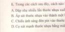 Bài 1 trang 87 sgk vật lí 7