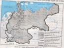 Dựa vào lược đồ, trình bày diễn biến chính của quá trình thống nhất Đức