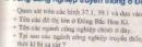 Bài 1 trang 125 sgk địa lí 7