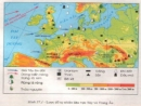 Khái quát tự nhiên khu vực Tây và Trung Âu
