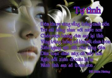 Bình giảng bài Tự tình của Hồ Xuân Hương