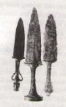 Hãy liên hệ các loại vũ khí với truyện Thánh Gióng