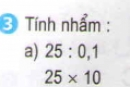 Bài 3 trang 164 sgk toán 5
