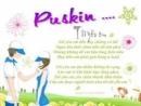 Anh (chị) hãy phân tích bài thơ Tôi yêu em của Puskin.