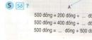 Bài 3, bài 4, bài 5 Tiết 4 trang 5 sgk Toán 3