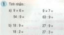 Bài 1, bài 2, bài 3, bài 4 Tiết 68 trang 69 sgk Toán 3