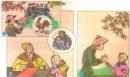 Kể chuyện: Dựa vào các tranh sau, kể lại từng đoạn của câu chuyện Cậu bé thông minh