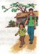 Tập đọc: Mẹ vắng nhà ngày bão trang 32 SGK Tiếng Việt 3 tập 1
