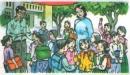 Soạn bài Ngày khai trường trang 49 SGK Tiếng Việt tập 1
