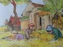 Tả quang cảnh làng quê giữa ngày mùa