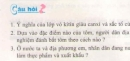 Bài 1, 2, 3 trang 76 sgk sinh học 7