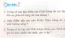 Bài 1, 2, 3 trang 98 sgk sinh học 7