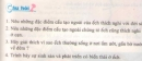 Bài 1, 2, 3, 4 trang 115 sgk sinh học 7