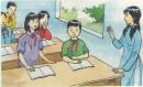 IN CLASS - Ở lớp - trang 51 sgk Tiếng Anh 7