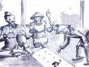 Cảm nhận về cảnh Huấn Cao cho chữ viên quản ngục cuối truyện - Ngữ Văn 12