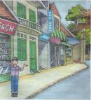 B.IN THE CITY (Ở thành phố) trang 65 tiếng Anh 6
