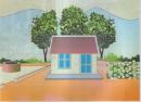 C.AROUND THE HOUSE (Quanh nhà) trang 68 tiếng Anh 6