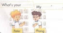 Lesson 2 - Unit 1 trang 8, 9 SGK tiếng Anh lớp 3
