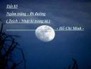 """Đọc bài thơ """"Ngắm trăng"""" và trả lời các câu hỏi sau"""