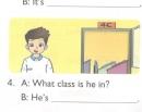 Lesson 2 Unit 6 trang 44 SGK Tiếng Anh lớp 4 Mới tập 1