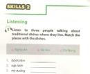 Skills 2 trang 55 Unit 5 Tiếng Anh 7 mới