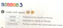 Lesson 3 Unit 5 trang 34,35 SGK tiếng Anh 5 mới