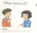 Lesson 1 Unit 11 trang 6 SGK Tiếng Anh lớp 4 Mới tập 2