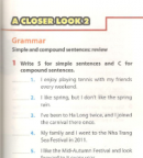 A Closer Look 2 trang 51 Unit 5 SGK Tiếng Anh 8 mới