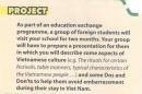 Project - trang 25 Unit 7 SGK Tiếng Anh 10 mới