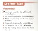 Looking Back trang 55 Unit 4 SGK Tiếng Anh 11 mới