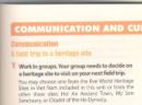 Communication and Culture trang 39 Unit 8 Tiếng Anh 11 mới