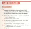 Looking Back trang 40 Unit 8 Tiếng Anh 11 mới