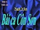 Luyện tập: Bài ca Côn Sơn trang 81 SGK Ngữ Văn 7