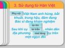 Luyện tập: Từ Hán Việt (tiếp theo) trang 83 SGK Ngữ Văn 7