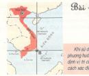 Câu hỏi trang 15,16 SGK Địa lý 6
