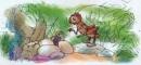 Luyện tập bài Bài học đường đời đầu tiên trang 11 SGK Văn 6