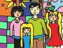 Luyện tập bài Bức tranh của em gái tôi trang 35 SGK Văn 6