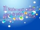 Luyện tập: Từ ngôn ngữ chung đến lời nói cá nhân trang 13 SGK Văn 11