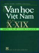 Khái quát văn học Việt Nam từ thế kỉ X đến hết thế kỉ XIX trang 104 SGK Ngữ văn 10