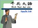 Soạn bài tác giả Nguyễn Trãi - Đại cáo bình ngô trang 8 SGK Ngữ văn 10