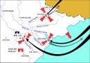 Dựa vào lược đồ hình 2, em hãy trình bày diễn biến cuộc kháng chiến chống quân Tống của quân dân ta.